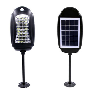 Waterproof 32led Solar Street Lights Outdoor Garden Lamp Lights+Motion Sensors Solar Wall Lamp Safety Road Emergency Light with remote