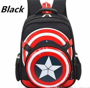 2019 new school backpacks avengers captain america cartoon style schoolbags for kids children shoulder bags mochila infantil
