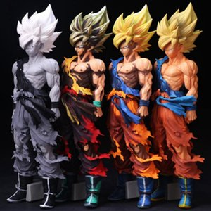 Wholesale Anime Figures Dragon Ball Super Saiyan Son Style cm PVC Goku Figures Toy for Collection Gifts HHA545
