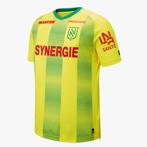 2019 2020 FC Nantes home Soccer Jerseys yellow jerseys 19 20 Men's FC Nantes Soccer Jersey Sala Waris Rongier Football Shirt Running Jerseys on Sale