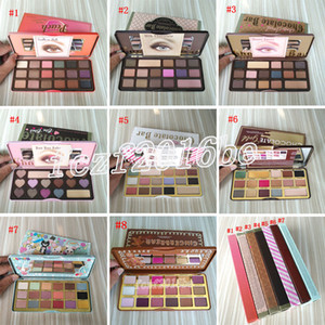 ingrosso bar occhio-Trucco Eye Shadow Palette Palette di cioccolato Oro Eyeshadow Too Face White Chocolate Bar Bar Gingerbread Spice Colors Peaches Eye Shadow