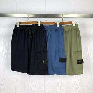 20SS Mens Stylist Shorts High Street Drawstring Pant Elastic Waist Outdoor Fitness Sport Short Pants Casual Breathable Shorts M-2XL