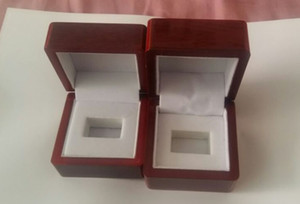 Championship Ring Display Case Box Wooden Box For Championship (Wood, 1 holes) 65**65*45mm And 50 * 65 * 65cmRed
