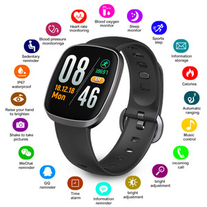 Smart Watch Waterproof GT103 Health Sport Fitness Tracker Sleep Monitor Music Control Color Screen Touch Watch For Women Men