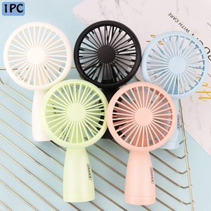 Wholesale Mini Fans Power Office Outdoor Home Mini Fan Portable Pocket Fan With LED Cool Air Hand Held Travel Cooler Cooling