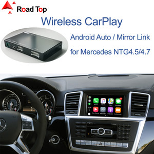 Wireless CarPlay for Mercedes Benz ML GL W166 X166 2012-2015, with Android Auto Mirror Link AirPlay Car Play Functions