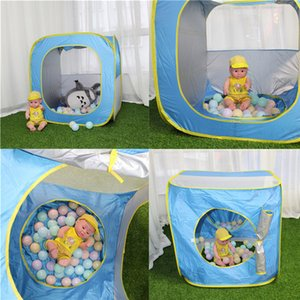 Wholesale Foldable Children Camping Beach Swimming Pool Toy Tents Baby Play House Outdoor Protection UV Sun Shelters T9G0021