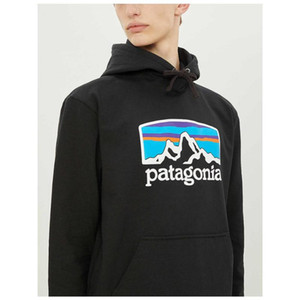 Wholesale Japanese Patagonia Mens Designer Hoodies Brand Men Mountain Printed Hooded Sweatshirts