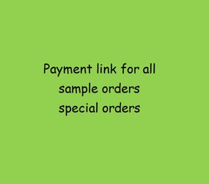 Payment link for special orders