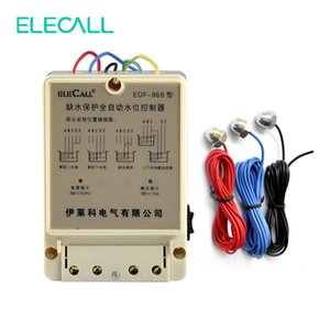 Wholesale ELECALL EDF B AC380V Water Automatic Level Controller Electronic Water Liquid Level Detection Sensor Pump Controller