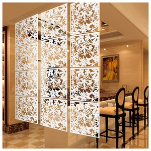 Wholesale Decoration for home Fashion 4 Pcs Butterfly Bird Flower Hanging Screen Partition Divider Panel Room Curtain Home White Black Red
