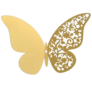 Wholesale kids decorative wall paper resale online - 3D stereoscopic pearlite paper butterfly D butterfly wall decorative sticker set D Butterfly Decoration Wall Stickers