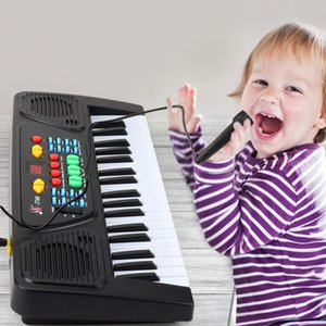 Wholesale 61 key Children s Electronic Piano Multifunctional Music Piano Instrument Toy Beginner Beginner Big Size Studio Gift