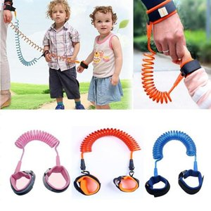 Wholesale walk for baby resale online - 1 m Children Anti Lost Strap for Kids Safety Wristband Safety Leashes Anti lost Wrist Link Band Baby Walking Wings Colors