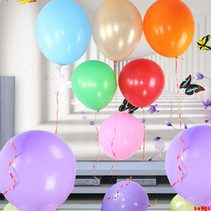 Wholesale inflatable birthday resale online - 36inch Large Round Balloon Solid Color Latex Balloon Happy Birthday Wedding Decorations Party Supplies Inflatable Balloons DBC BH3118