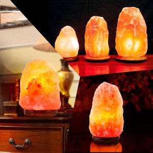 Wholesale Himalayan Natural Air Purifier Salt Rock Crystal Night Light Lamp Lbs NEW