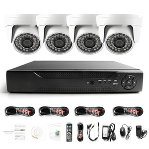Surveillance HDMI 4CH AHD 1080N DVR HD Day Night 1800TVL 24IR Waterproof indoor Camera CCTV Home Security Systems