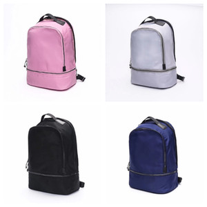 The LU Backpack Yoga Backpacks Travel Outdoor Sports Bags Teenager School 4 Colors