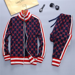 Wholesale Autumn winter Men s New Medusa Sportswear suits Luxury Designer Running tracksuits Jackets Suit Mens New Brand fashion Sweatshirts Suit