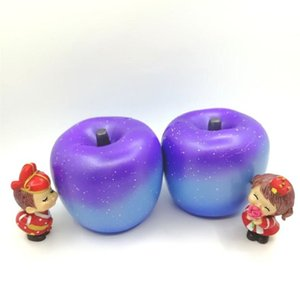 Wholesale Starry Apple Model Squishy Decompression Foamed Kids Toy Pu Simulation Arts And Crafts Imilation Slow Rebound Toys
