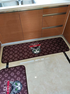 Wholesale Kitchen Bathroom Bathtub Bedside Wash table carpet Home Kitchen Rugs Modern Carpets Non Slip backing Doormat Runner Mats piece suit Clean