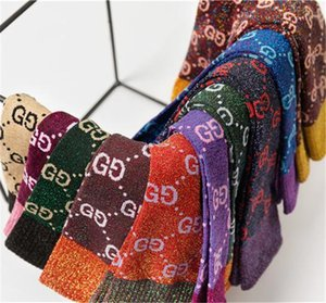 Hot autumn Girl new candy color letter pile heap female socks fashion trend multicolor wild cotton socks Wholesale HN159