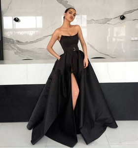 Wholesale 2018 Arabic Cheap Mermaid Prom Dresses Long Elegant Evening Formal Dress cocktail party dresses Abendkleider High Slit