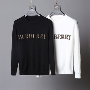 Men's designer sweater pullover brand men and women sweater letters embroidery sweater long-sleeved designer sweatshirt round neck on Sale