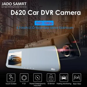 Wholesale JADO D220S HD P Car DVR Camera inch Touch Screen Rearview Mirror Dash Cam Super Night Vision Video Recorder