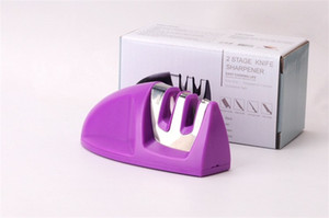 Wholesale Kitchen Fixed Angle Knife Sharpener Fast Multi Function Portable Durable High Quality Two Paragraph Knives Sharpeners Hot Sale sz E1