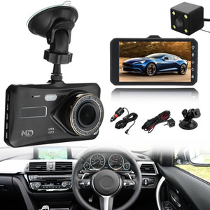 Wholesale 2Ch car DVR dashcam digital driving camcorder auto video recorder quot touch screen FHD wide angle night vision G sensor loop recording