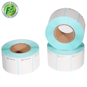 Wholesale price printing tag custom self adhesive rolls logo maker stickers sheets labels x30mm rolls