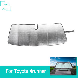 Wholesale Insulation Aluminum Foil Car Front Windshield Sun Visor Fit Toyota Runner Super Car Interior Accessories