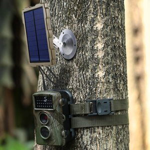 Wholesale Outdoor Hunting Camera Battery Solar Panel Power Charger External Panel Power for Wild Camera Photo traps H801 H885 H9 H3 H501
