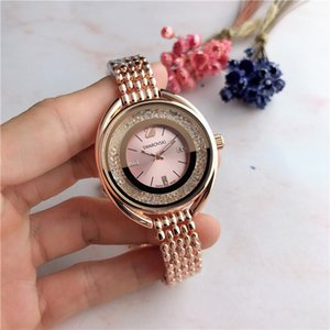 2019 trend fashion women's watches famous brand Swarovski women's watches noble oval dial diamond watch relogios femininos Women's gift