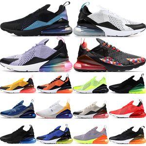 2020 floral be true regency purple 270s OG men running shoes mens womens black hot punch dusty cactus total orange 27c sneakers trainers
