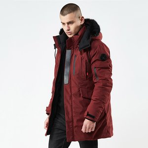 Wholesale mens designer jackets mens designer winter coat thick snow parkas overcoat white duck down jacket men designer tracksuits down coat yrfm