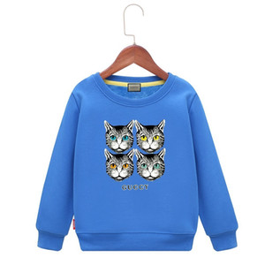 2019 New Pattern Children Hoodie Pure Cotton Sweater Autumn And Spring T-shirts Long Sleeves Child Can Customiz Boys
