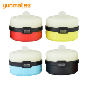 Wholesale Cross Border For More Function Cob Camp Yellow Light Candle Bar Aaa Battery Outdoors Tent Lamp