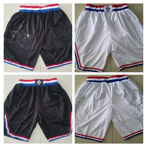 New Shorts All Star Shorts Baseketball Shorts Running Sports Clothes Black And White Color Size S-XL Mix Match Order High Quality