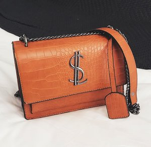 Wholesale messenge bags for sale - Group buy 2020 Famous Women Designer Lady Classic Plaid Shoulder Crossbody Bags PU Leather Women Messenge