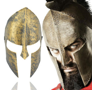 Wholesale Halloween Party Spartan theme Spartan Warrior Helmet Mask Decoration Adult Cosplay Masquerade Ball Sport Headband A2239c