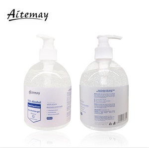 Aitemay Instant Hand Sanitizer 500ml Ethanol Alcohol Hand Gel Skin Disinfection Liquid Soap Disinfectant DHL