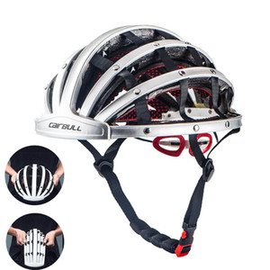 Wholesale CAIRBULL adult Ultralight Portable Cycling Helmet MTB Road Bike unisex Folding Helmet City Bike Safety Leisure CM