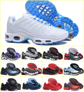 2019 New Designs Original Air Tn Men Shoes Cheap Black White Breathable Mesh Chaussures Plus Tn Ultra Sport Sneakers Casual Shoes Size 7-12