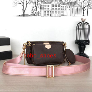Wholesale 3 pieces set New Style Luxury Designer Shoulder Bags Women Chain Crossbody Bag real Leather Handbags Purse Female Messenger Tote Bag