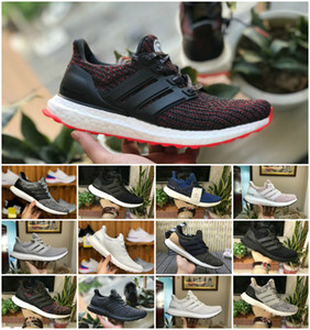 Wholesale High Quality Ultraboost 3.0 4.0 Uncaged Running Shoes Men Women Ultra Boost 3.0 III Primeknit Runs White Black Athletic Shoes Size 36-45