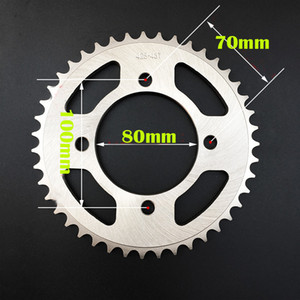 Wholesale For Suzuki GZ150 A GZ125 high quality Motorcycle parts sprockets rear sprocket teeth Improve speed