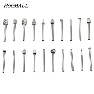 Wholesale Hoomall set High Speed Steel Fine Needle File Electric Mill Matching Electric Screwdriver Drill Power Tools Accessories