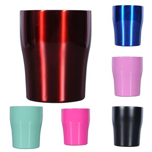Wholesale 10oz Stainless Steel Cup Tumblers Double Vacuum Car Insulation Milk Beer Mug Red Wine Coffee Cup With Lids WX9